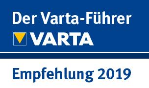 VARTA - Empfehlung 2019
